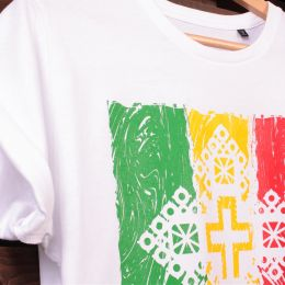 Tričko Zion Gate Jah Light - bílé | Organic Cotton