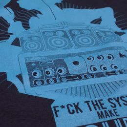 Tričko Fuck the System Make Sound System