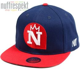 Kšiltovka Snapback Nuff Wear - Navy & Red