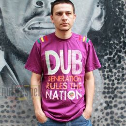 Tričko Dub Generation Rules The Nation - Nuff Respekt