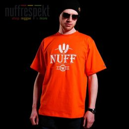 Tričko - Nuff Wear spray 01613 - orange