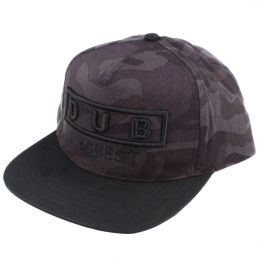 Snapback Dub Respect | Dark Midnight camo
