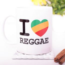 Hrnek I Love Reggae 330 ml