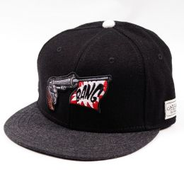 Cayler & Sons Bang Cap black wool/grey wool/red